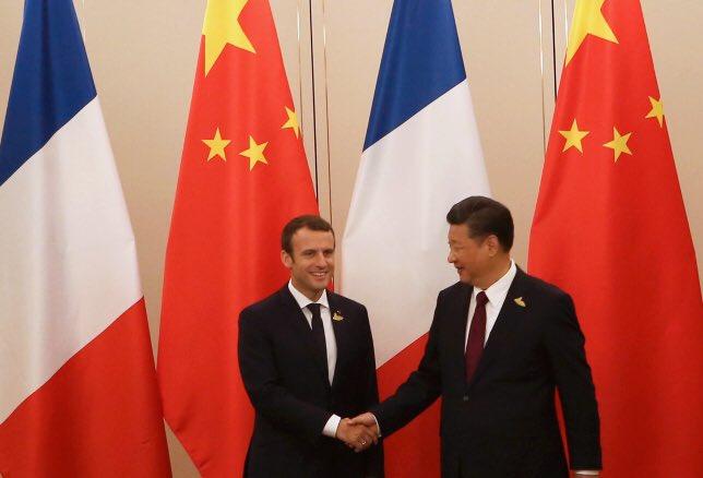 Pour défendre l'accord de Paris, la France et la Chine sont unies. #MakeOurPlanetGreatAgain https://t.co/iKymoJPV8c