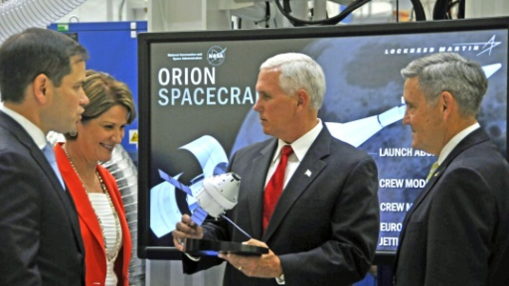 US VP Pence's hands-on NASA gaffe goes viral