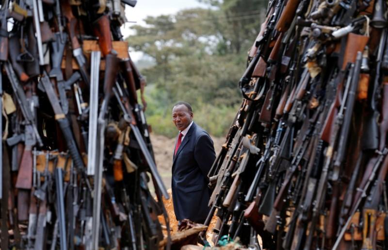 Kenya interior minister dies in hospital