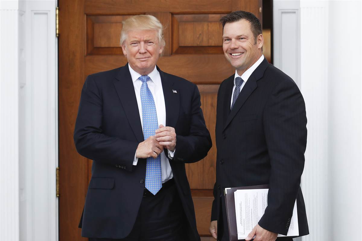 Public voter info for fraud panel chairs Pence, Kobach