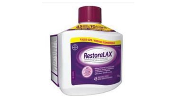 RestoraLAX recall expanded on possible 'clumps and lumps' choking hazard