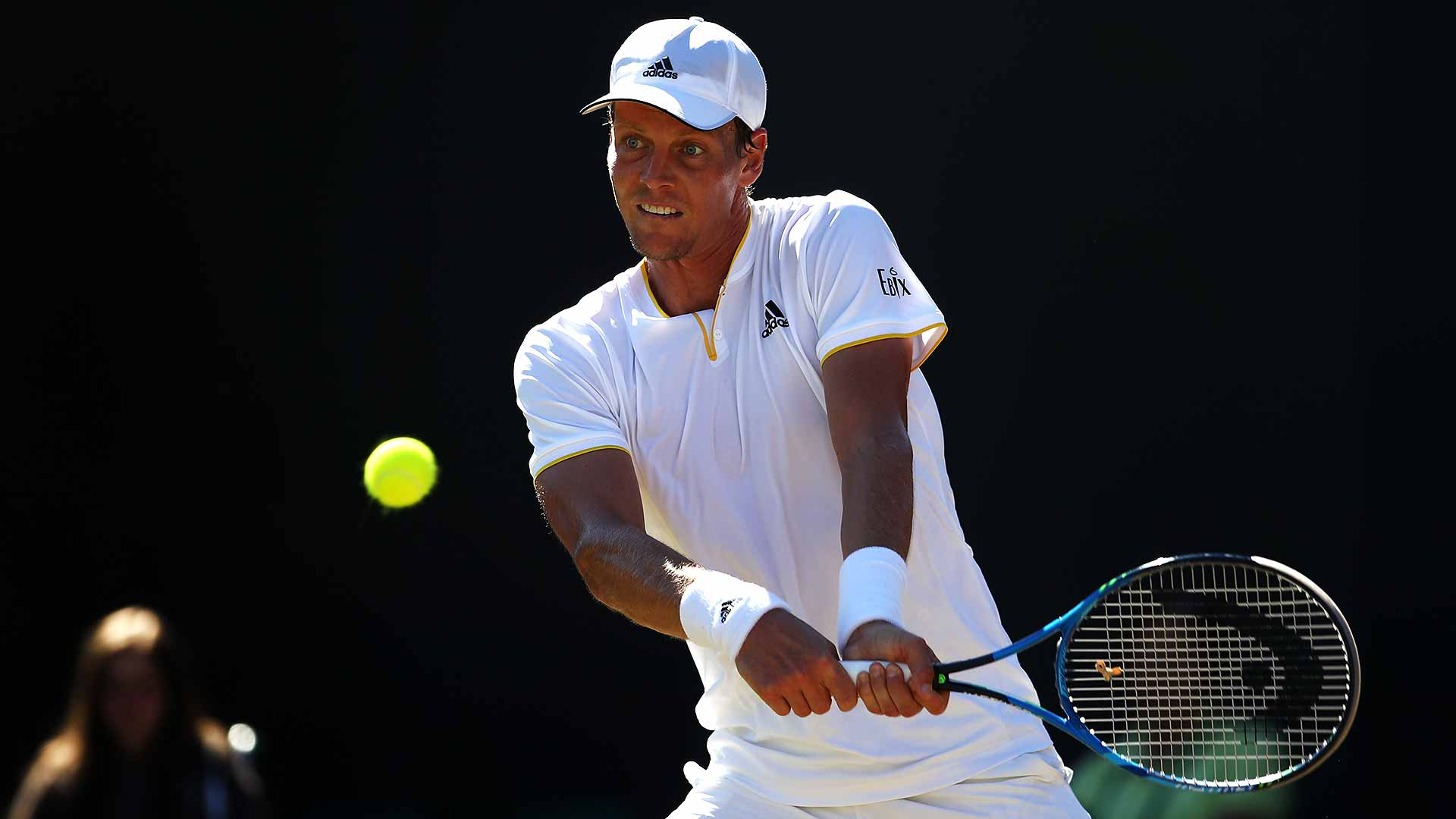 .@tomasberdych d. Ferrer 63 64 63 to return to familiar territory at #Wimbledon. More: https://t.co/7t8OZoRqgr #ATP https://t.co/yZwyDbDuZu