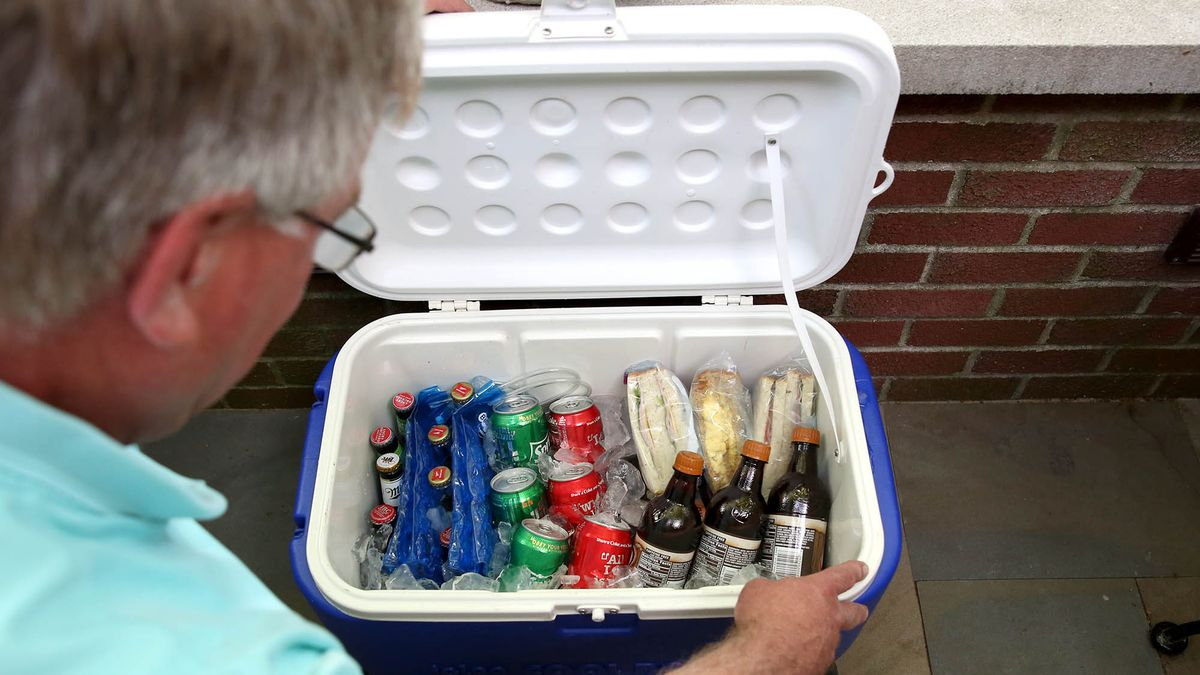 Dad's Eyes Well Up At Sight Of Perfectly Packed Cooler https://t.co/ZCGqGG8xSV https://t.co/gXMvwgInJa