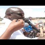Presidential candidate Ekuru Aukot campaigns in Wajir town