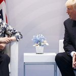 Britain's May optimistic on Trump visit, UK-US trade deal