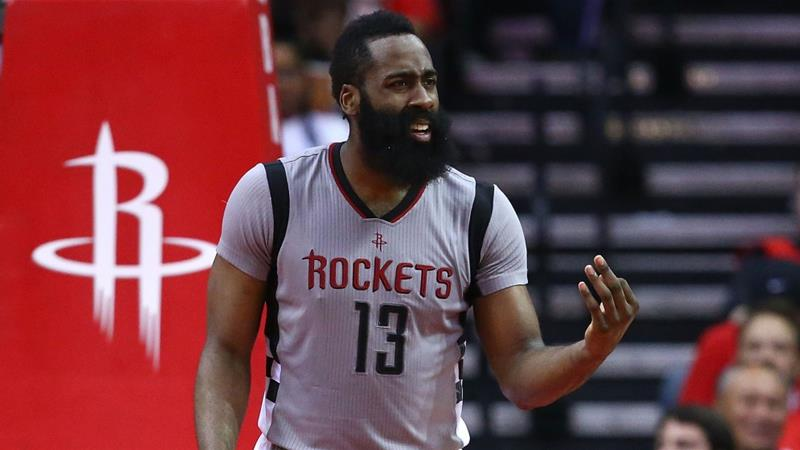 Houston Rockets hand James Harden the richest contract in NBA history - $228m over six years