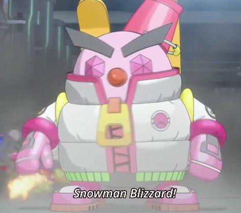 アニメのアイ姉ちゃんのユキダルマーの色は水着と同じ色。 #ヒーローバンク #herobank