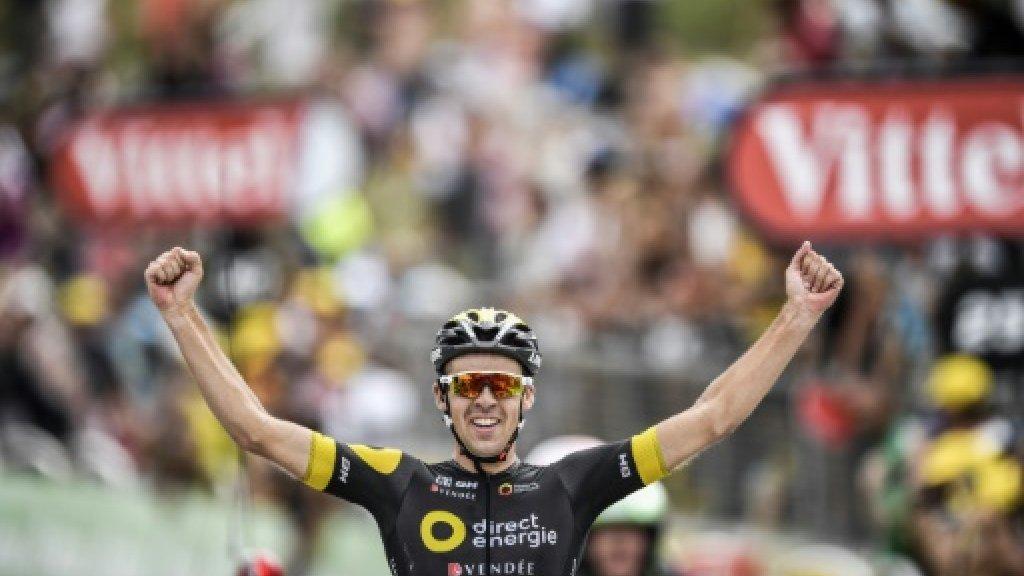 Calmejane avoids 'catastrophe' to win Tour de France stage