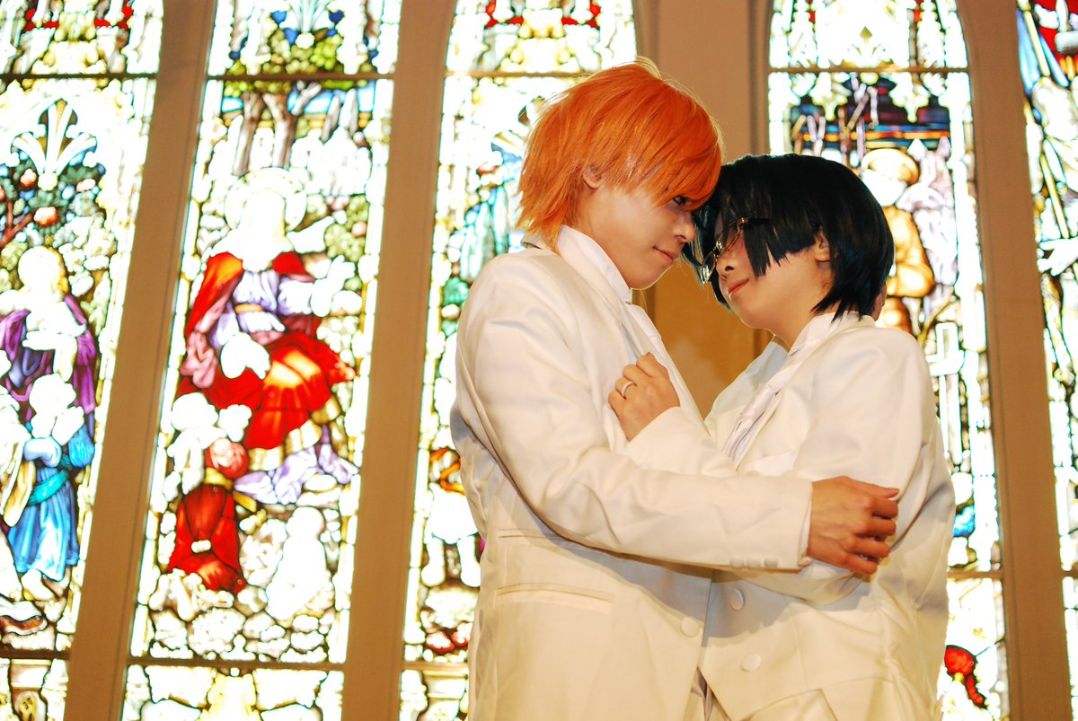 【コス画絡み注意】LOVE STAGE!!最終話聖湖と玲の結婚式してきた時の!幸せになってね(/_;)玲:70P:KAZ