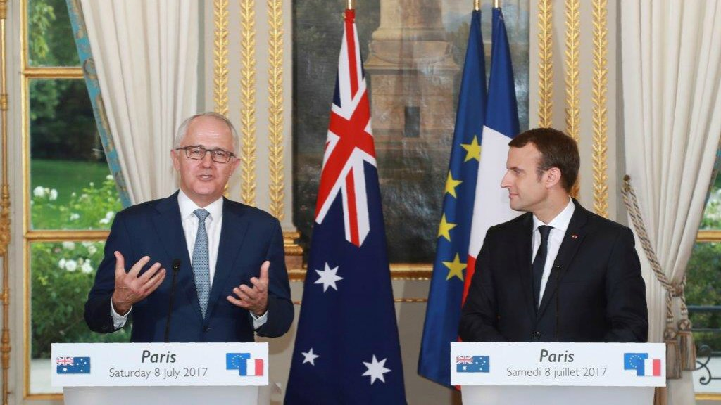 French company behind 'most ambitious military project in Australia's history'
