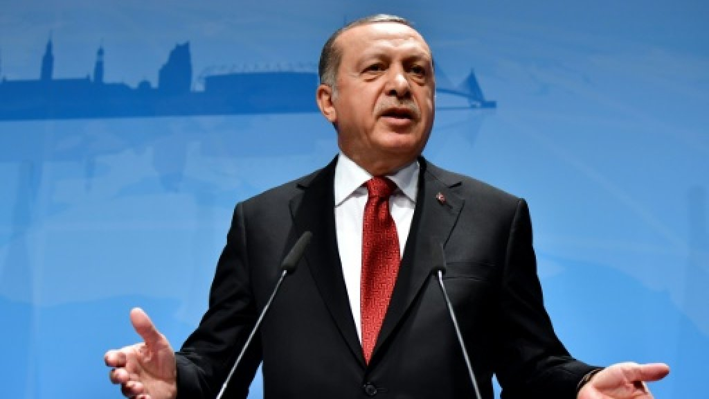 Erdogan threatens not to ratify Paris climate accord