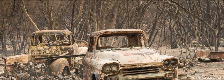 Wildfires send children fleeing from California summer camps
