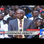 Bungoma county governor candidates face off in first debate