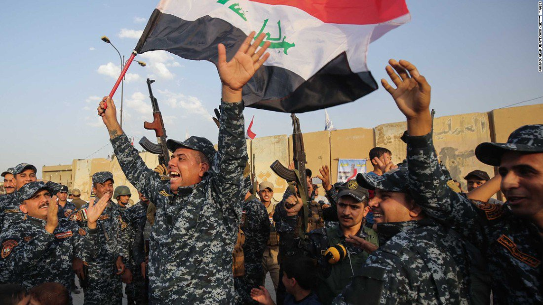 Just in: Iraq's PM claims Mosul victory, but state TV says ISIS fighters remain