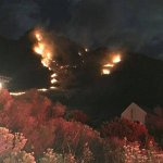 Betty's Bay fire disaster averted as rain extinguishes flames