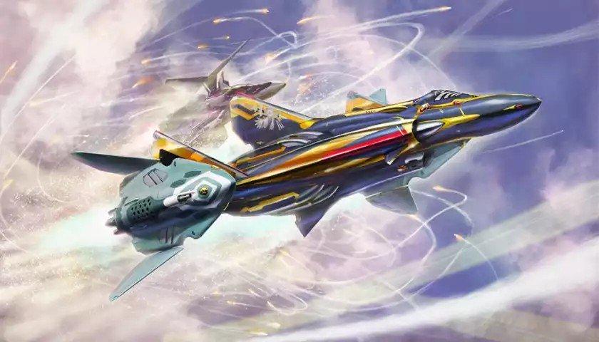 El maestro Hidetaka Tenjin para Hasegawa, 1/72 sv262hs Draken III con lil drakens #macross https://t.co/fKklE7e5P7