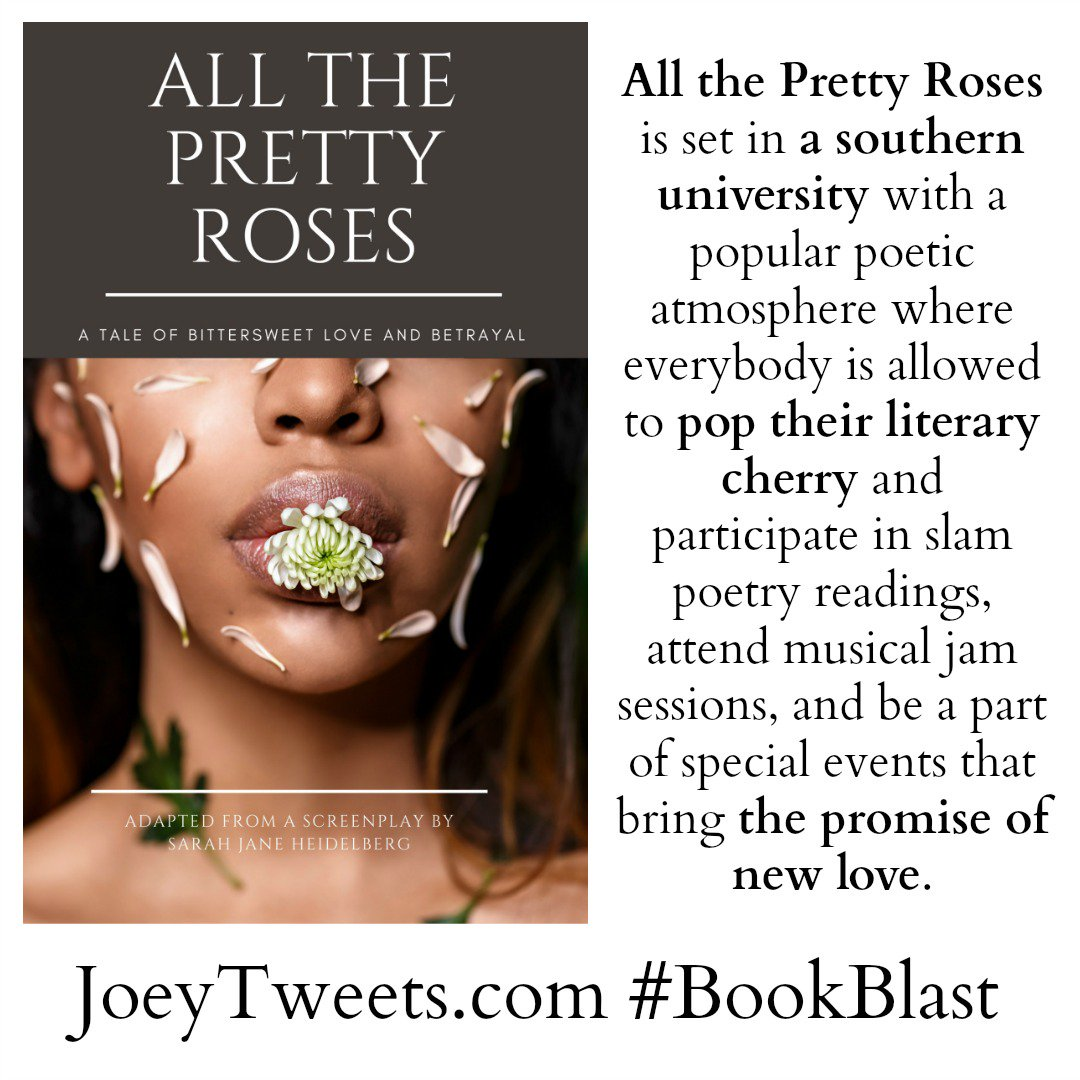 https://t.co/SFfRJv0E1s << Enjoy 'All the Pretty Roses' as Betrayal tests Mercedes and Romero. #bookblast #ad https://t.co/9vCy7CZ3GS