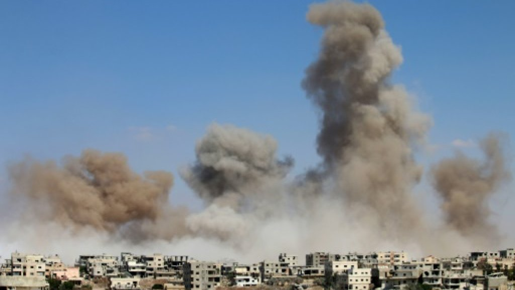 Quiet as southern Syria ceasefire begins ahead of talks