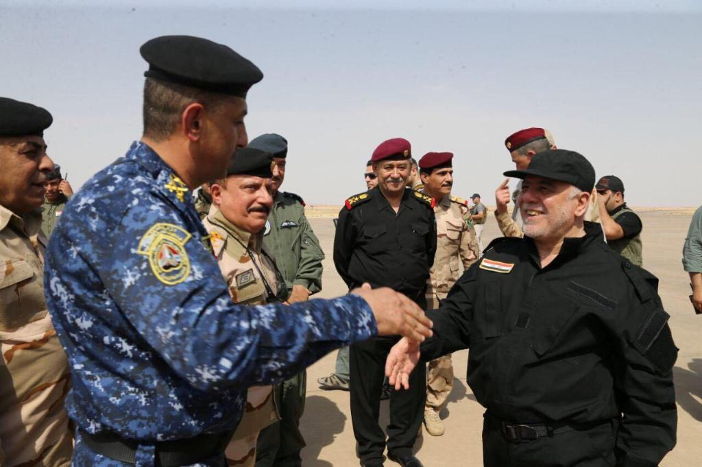 Iraqi PM congratulates troops in Mosul, declares victory over ISIS