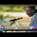 Nkaissery the general: His firmness traced back to his military days