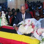 Hundreds gather at Namirember Cathedral for Ssebaana Kizito funeral service