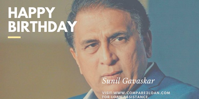 Compare2Loan wishes a very happy birthday to Sunil Gavaskar.