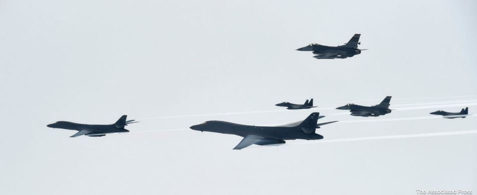 """North Korea calls US practice bombing run a """"reckless military provocation"""""""
