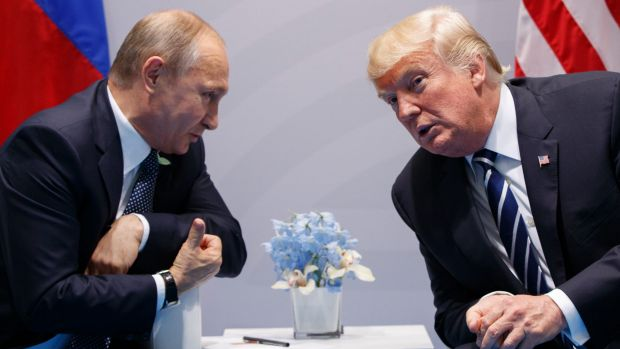 G20: Donald Trump calls for Russia's help in cyber battle with election hackers