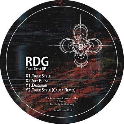 """[JUST IN] RDG - Tiger Style EP (12"""") Cessmanとのコラボも人気のプロデューサー"""