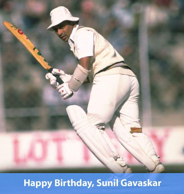 Happy Birthday Sunil Gavaskar