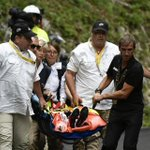 Tour de France contender injured in serious crash