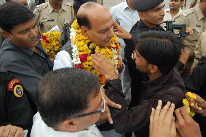 Happy Birthday to Honourable Minister Shri. Rajnath Singh ji Minister of Home Affairs of India