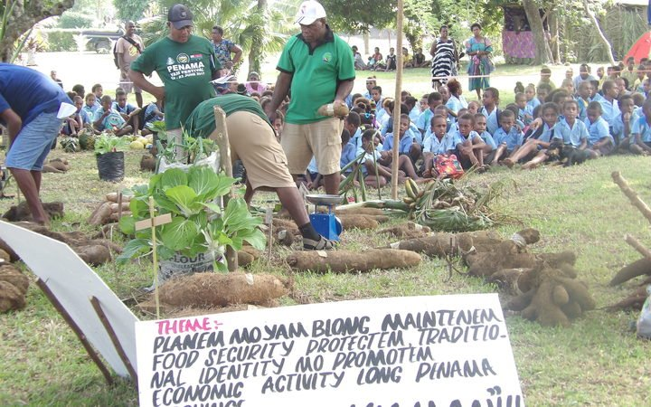 Vanuatu stress on farming skills ahead of the keyboard