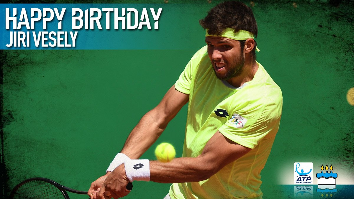 Happy 24th birthday @jiri_vesely! Have a great day �� View #ATP Profile: https://t.co/5yCXFxauDt https://t.co/rB3BhUB0e5