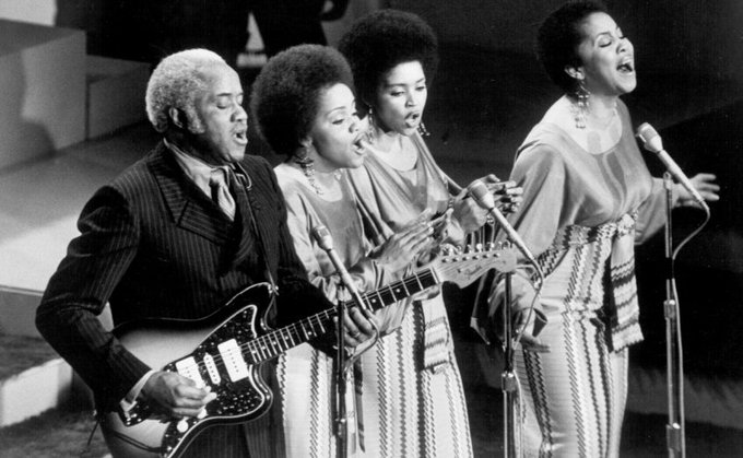 Happy Birthday to Mavis Staples(far right) who turns 78 today!