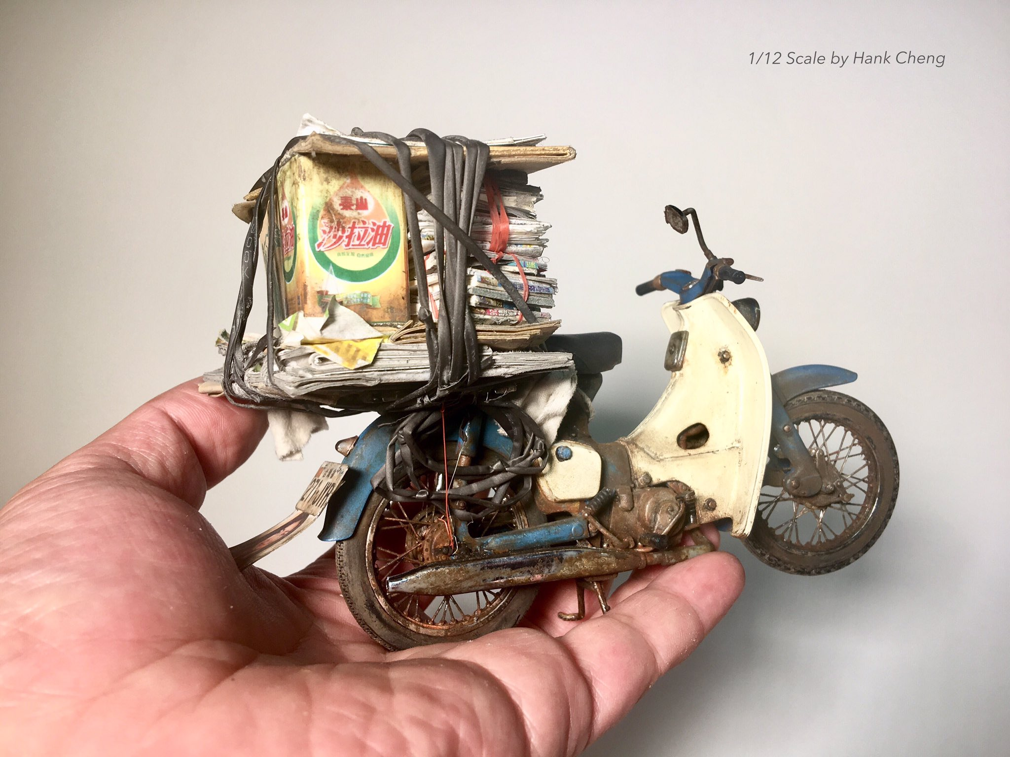 1/12 Scale 「Recycling grandpa's summer」 https://t.co/VHMJND6yWy