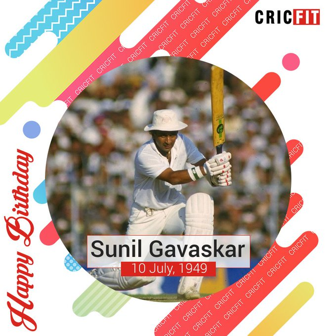 Cricfit Wishes Sunil Gavaskar a Very Happy Birthday!