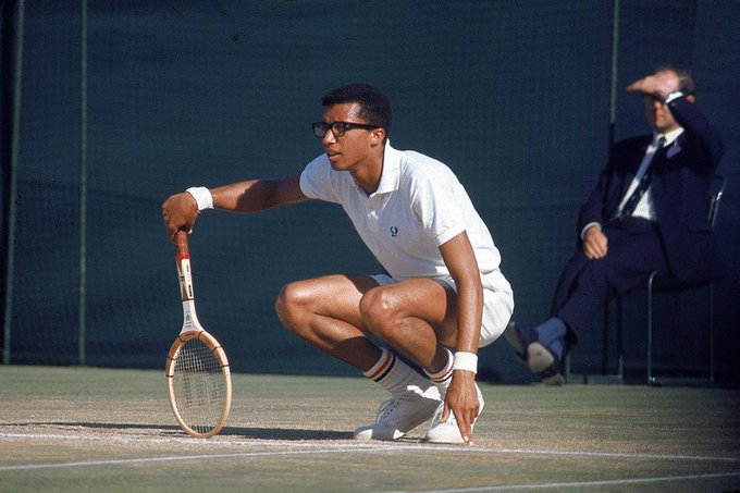 Happy Birthday to Arthur Ashe, who would have turned 74 today!