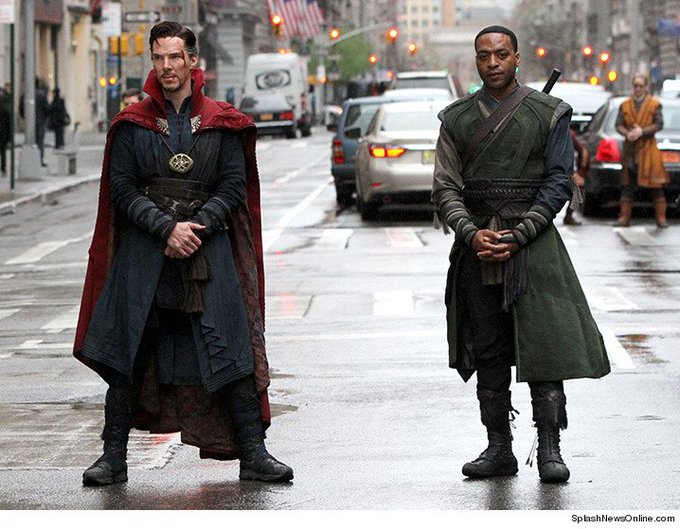 Happy Birthday to Chiwetel Ejiofor(right), who turns 40 today!