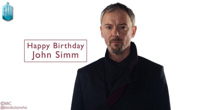 Happy birthday to the merciless Master - John Simm!