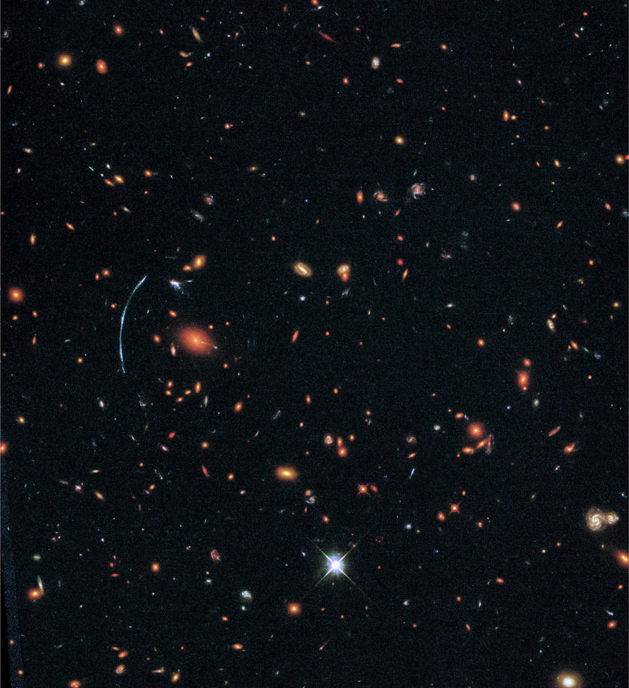 'Fireworks' Images from Hubble Telescope Capture Stars Forming Just After the Big Bang