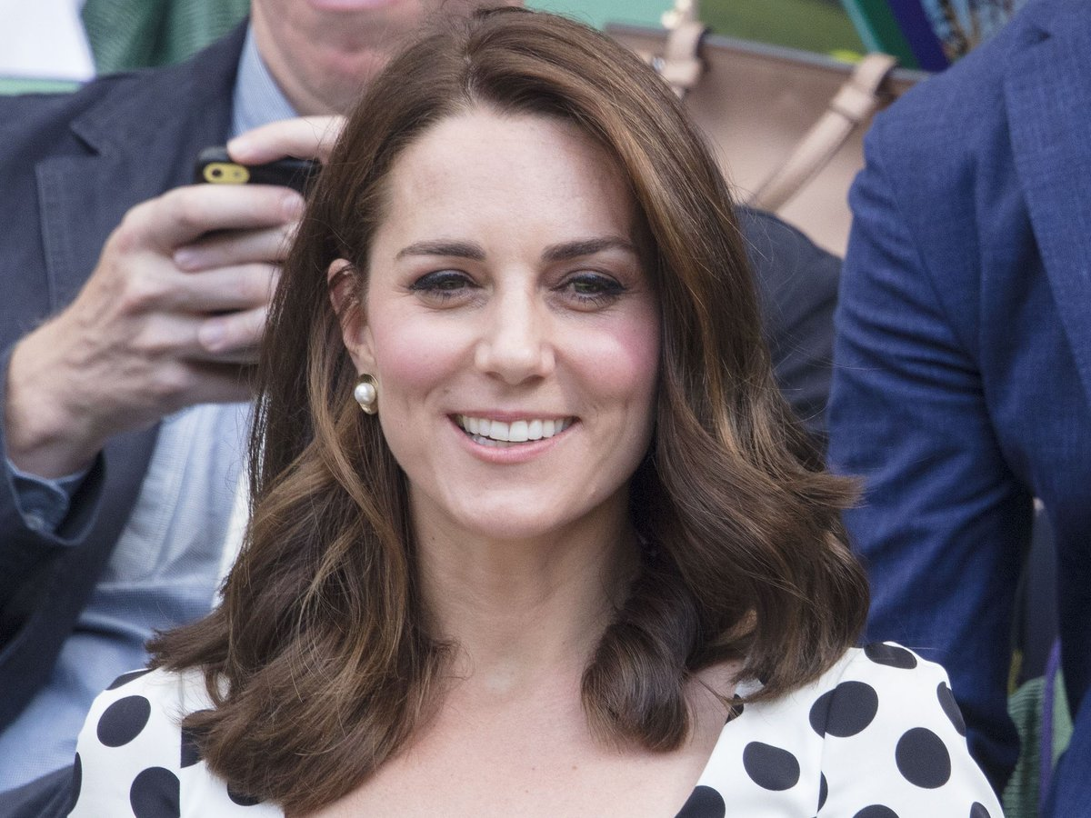 Kate Middleton's Cut Her Perfect Hair *Sob*