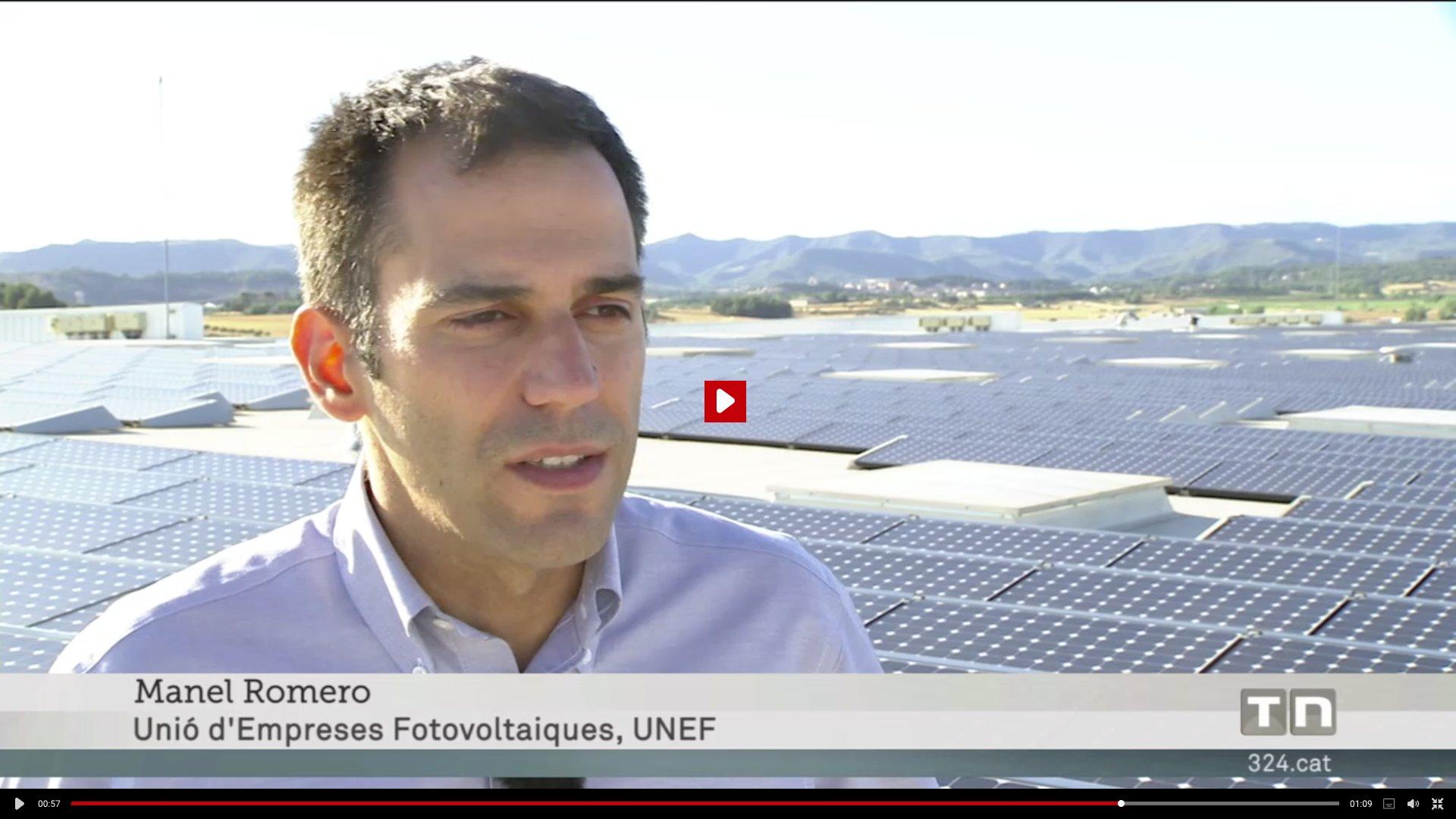 Ahir TV3 va parlar sobre l'impost al sol. Hi surt Manel Romero de SUD i presentant d'UNEF. https://t.co/2lTwOxHDiD https://t.co/jVhURDirNs
