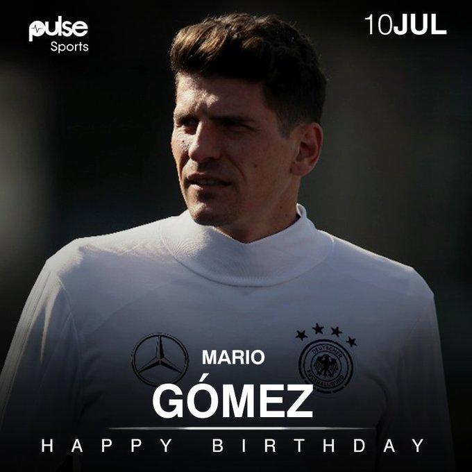 Happy Birthday Mario Gomez 70 International Games  30 International Goals