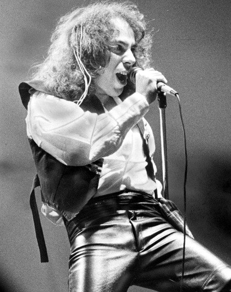 Happy Birthday, Ronnie James Dio, born on this day, the 10th of July, 1942. \\m/ Horns Forever \\m/