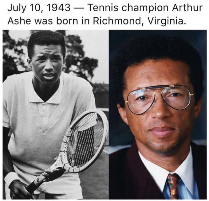 Happy 74th Birthday in heaven Arthur Ashe, Jr.