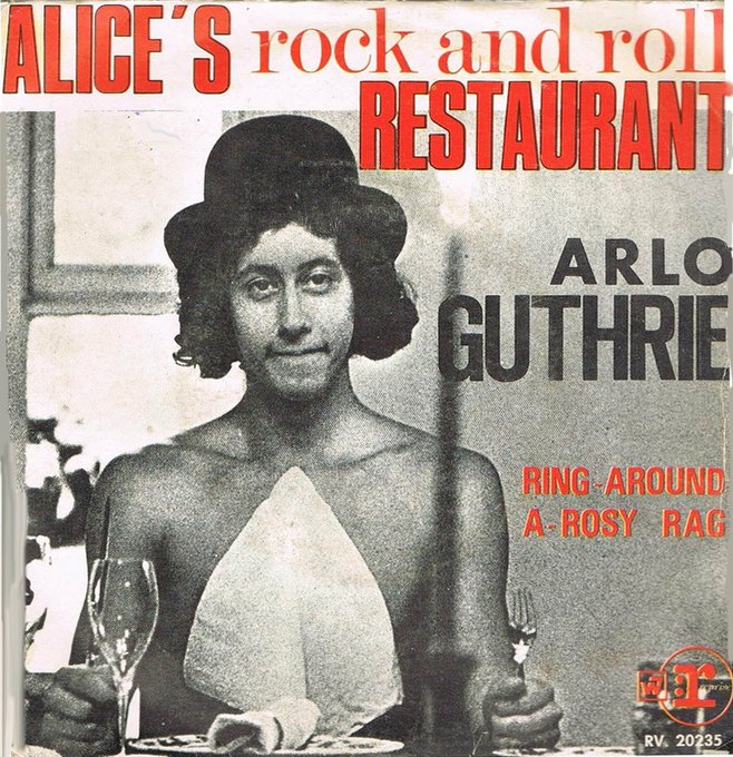 Happy birthday Arlo Guthrie, born today in 1947!