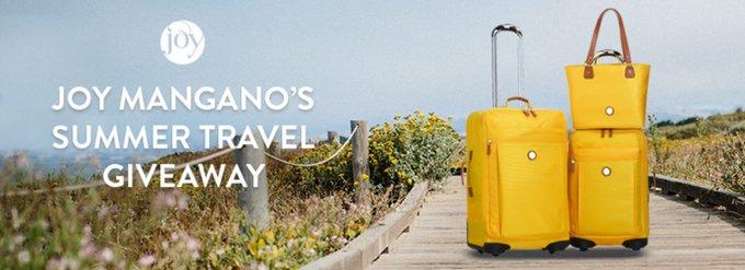 Joy Mangano: Joy Mangano's Summer Travel Giveaway