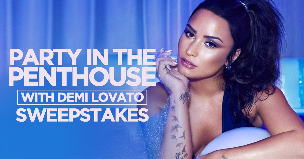 Want to fly to Vegas this Friday to hang with @ddlovato? Enter now!   https://t.co/3Ka1NpJmLE https://t.co/34tXrvvWHj