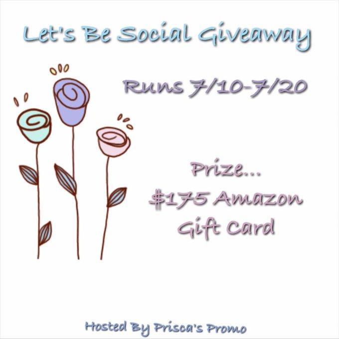 Let's Be Social Giveaway!